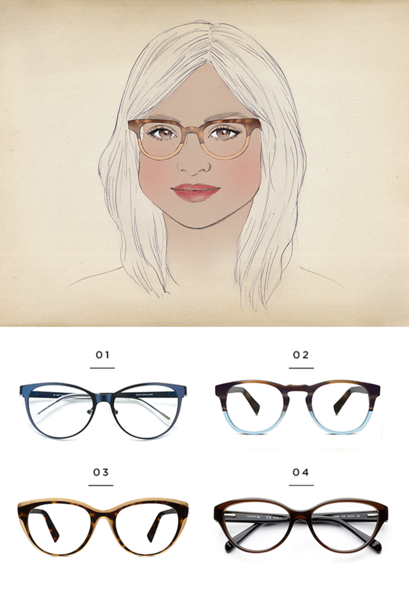 428cc581434 The Best Glasses for All Face Shapes