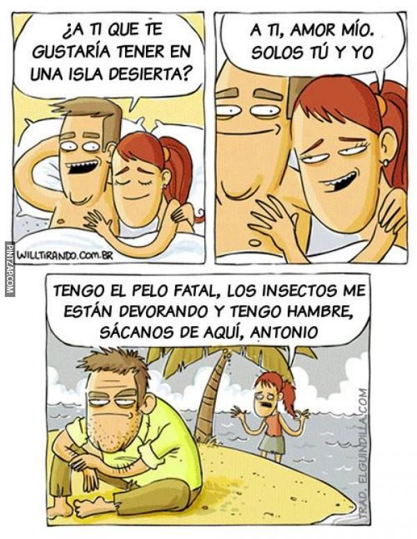 Isla Desierta Buscar Con Google Lustige Cartoons Rage Comic Lustig