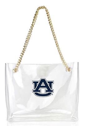 Desden Auburn Tigers Clear Gameday Stadium Tote Bag