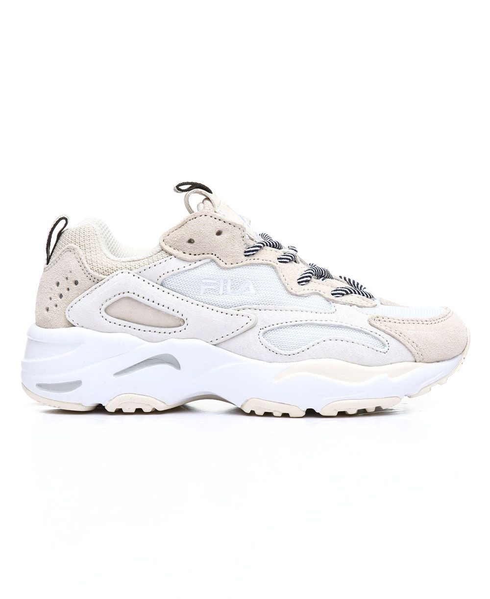 Beige ray tracer sneakers shoes beige