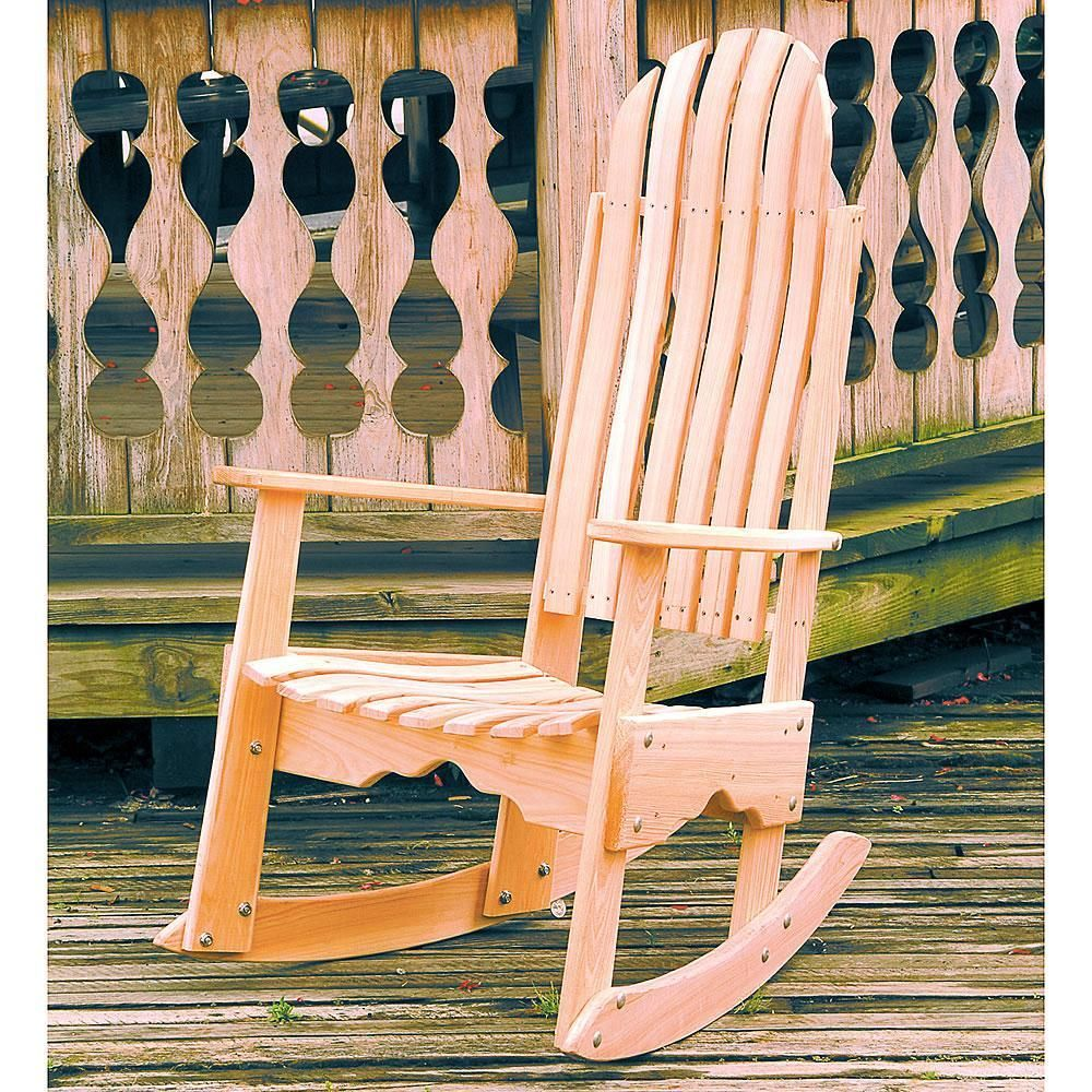 Cypress Rocking Chair Rocking chair, Wooden rocking