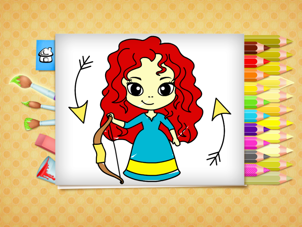 This coloring book provides beautiful pictures for toddlers and ...