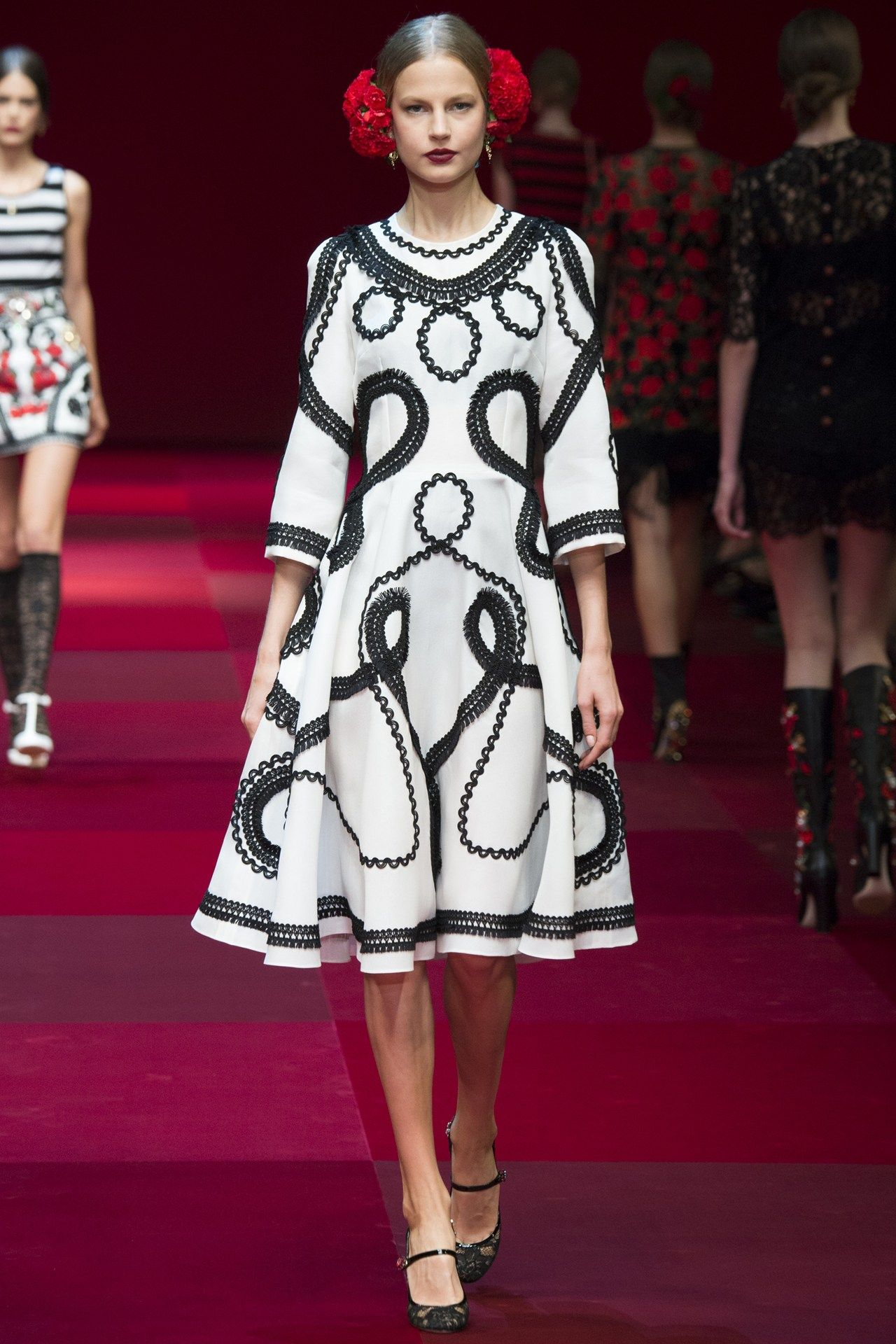 1c78d174151f Dolce & Gabbana womenswear, spring/summer 2015, Milan Fashion Week ...