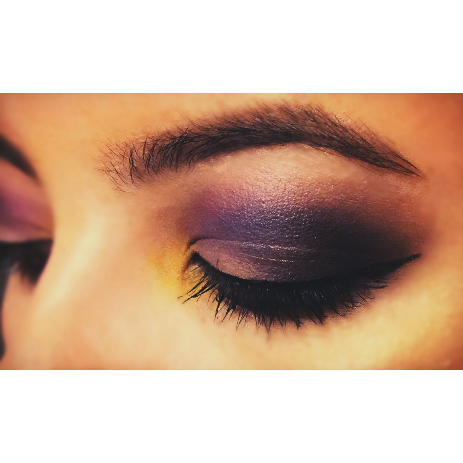Makeup look my friend did on me the other day
