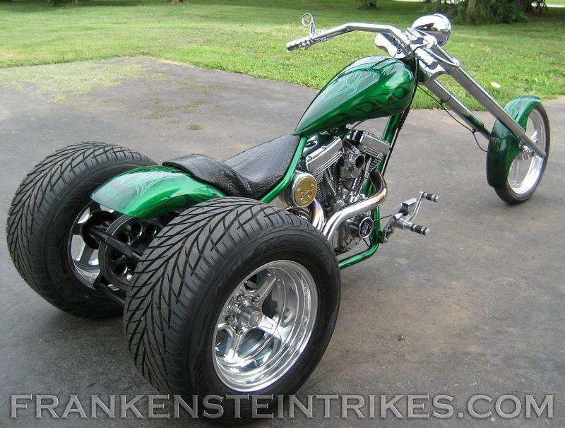 Frankenstein Trike Conversion Kit Custom Photos Vw Trike Trike Kits Harley Davidson Chopper