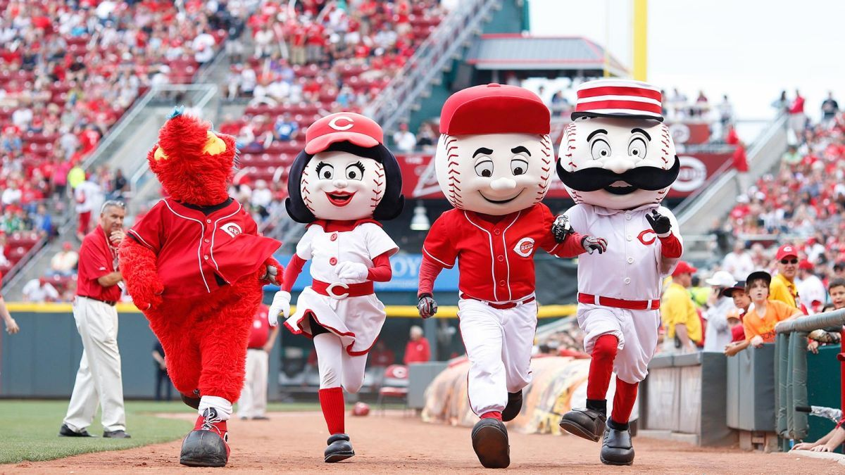 The Only Official Mlb Mascot Rankings You Ll Ever Need Or Want Mascot Mlb Cincinnati Reds
