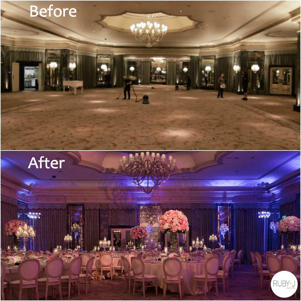 NYC Jewish Wedding Planners Amazing Ballroom Transformation
