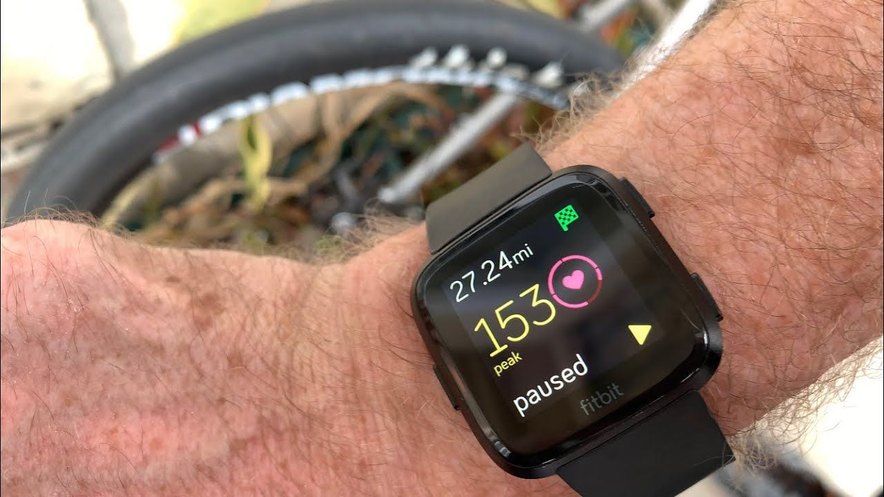 How To Track A Bike Ride With Fitbit Fitbit Bike