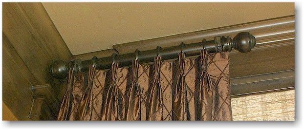 Wood Traverse Rod Curtains Brass Curtain Rods Curtain