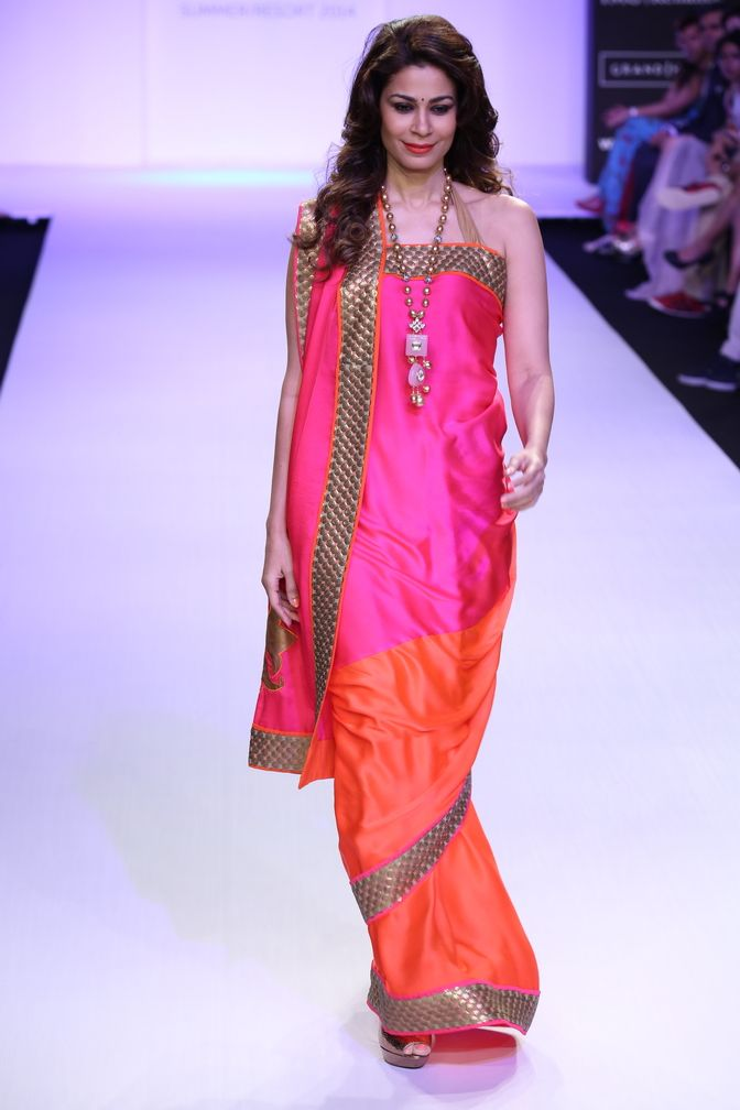 Mandira Bedi, collection été 2014