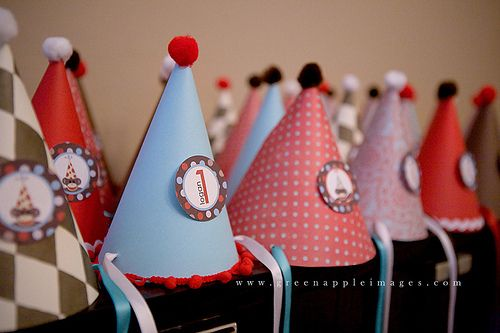 Red & Aqua Sock Monkey Party - Kara's Party Ideas - The Place for All Things Party