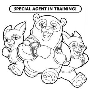 Special Agent Oso Training In