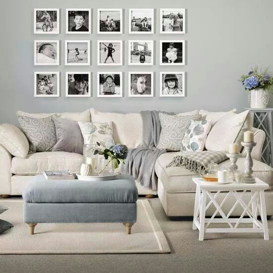 Must Get Those Pics Off The Computer And On The Wall Home Living Room Living Room Inspiration Living Room Grey