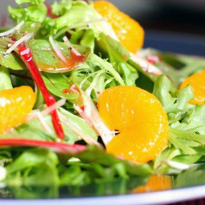 Recipe: Asian Salad with 'Chik'n' & Mandarin Oranges ...