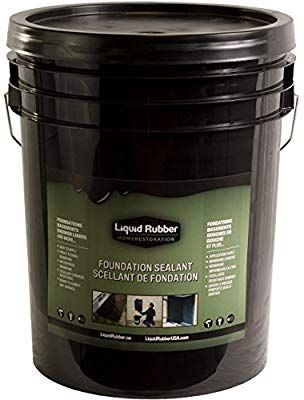 Liquid Rubber Foundation Sealant/Basement Coating - Indoor