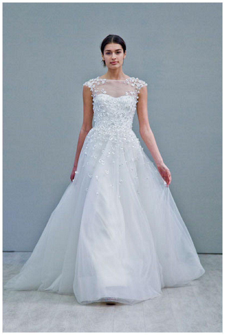 Wedding dress from the Jim Hjelm Fall 2015 Collection. | Novias y ...