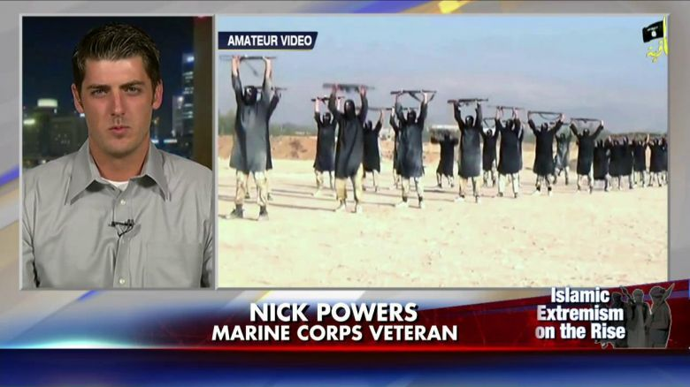 """Marine Veteran's Warning to ISIS: 'Attack Us and There Will Be No Mercy' - You gotta love the Marines!!  FoxInsider- Following the beheading of American journalist James Foley by ISIS, one Marine is issuing his own warning to the terror group.Iraq war veteran Nick Powers wrote on Facebook, """"Remember we are armed in the U.S. and I can promise you this … You attack us and there will be no mercy."""" ISIS claims that the killing was in retaliation against  [...] 08/23  - Click for Video►"""