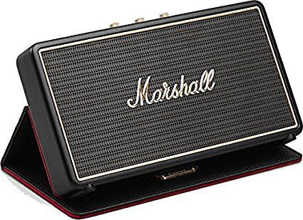 Marshall Stockwell Portable Bluetooth Speaker with Case d777288a65094