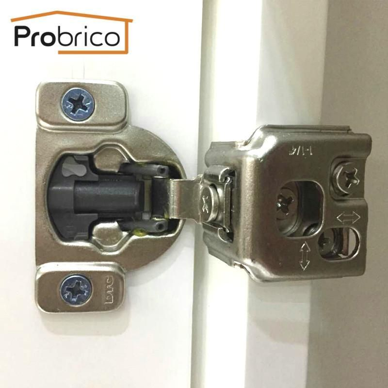 Probrico 100 Pcs Soft Close Kitchen Cabinet Hinge Chm36h114