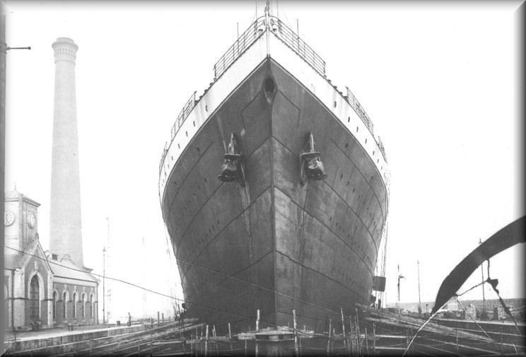 Bow 20of 20titanic Enhanced Jpg Jpeg Image 744 505 Pixels Rms Titanic Hundimiento Fotos Del Titanic