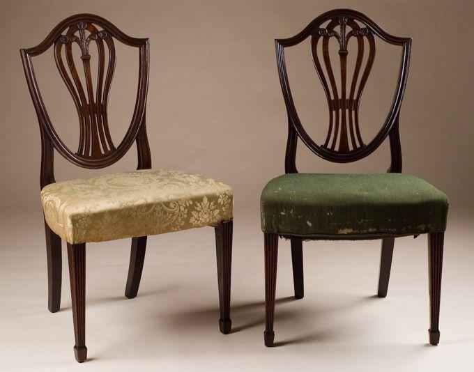hepplewhite furniture | Pair of Hepplewhite Chairs & hepplewhite furniture | Pair of Hepplewhite Chairs | Federal ...