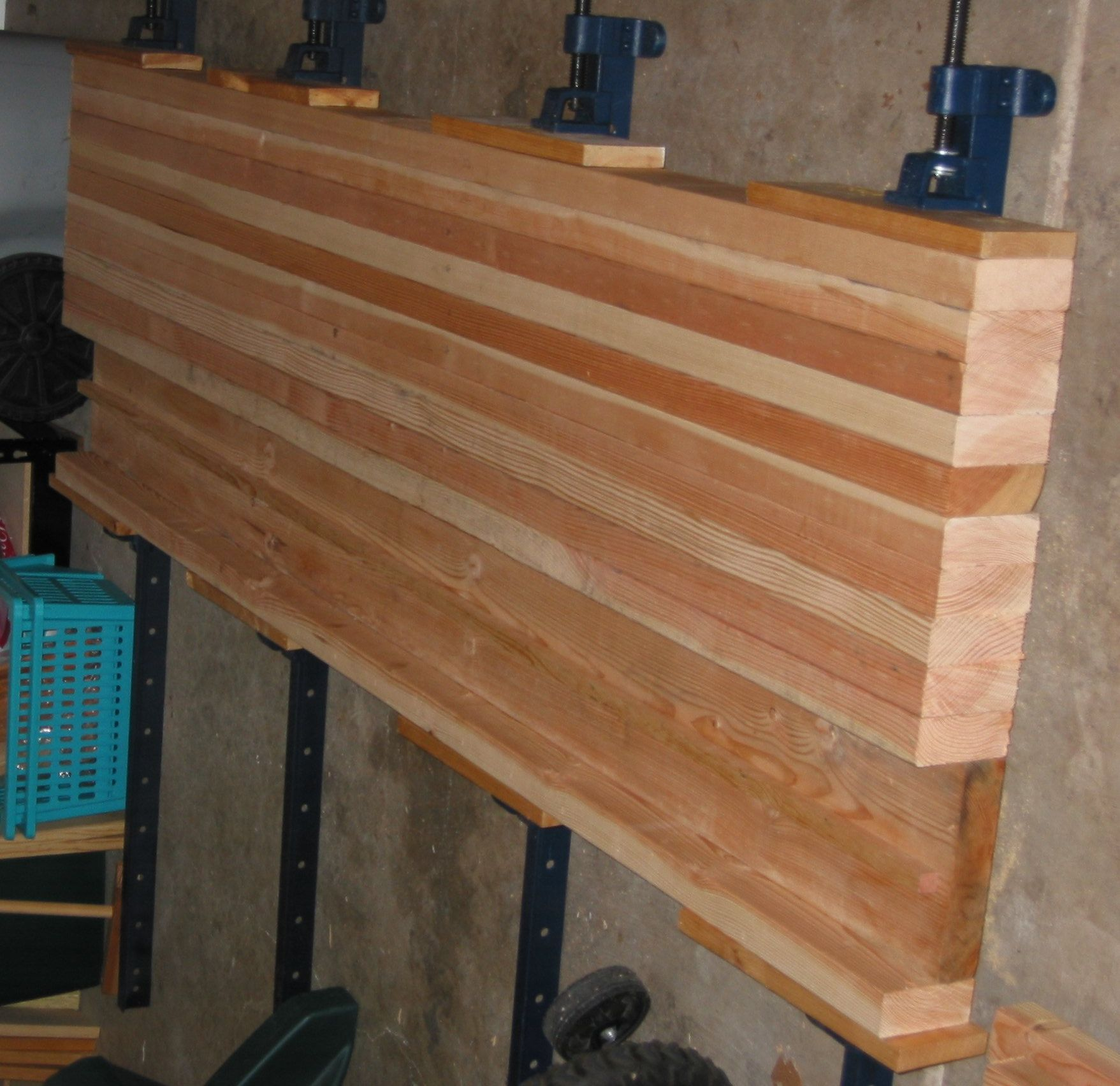 2x4 Workbench Plans: Workbench Top Using 2X4's Or 2X3's
