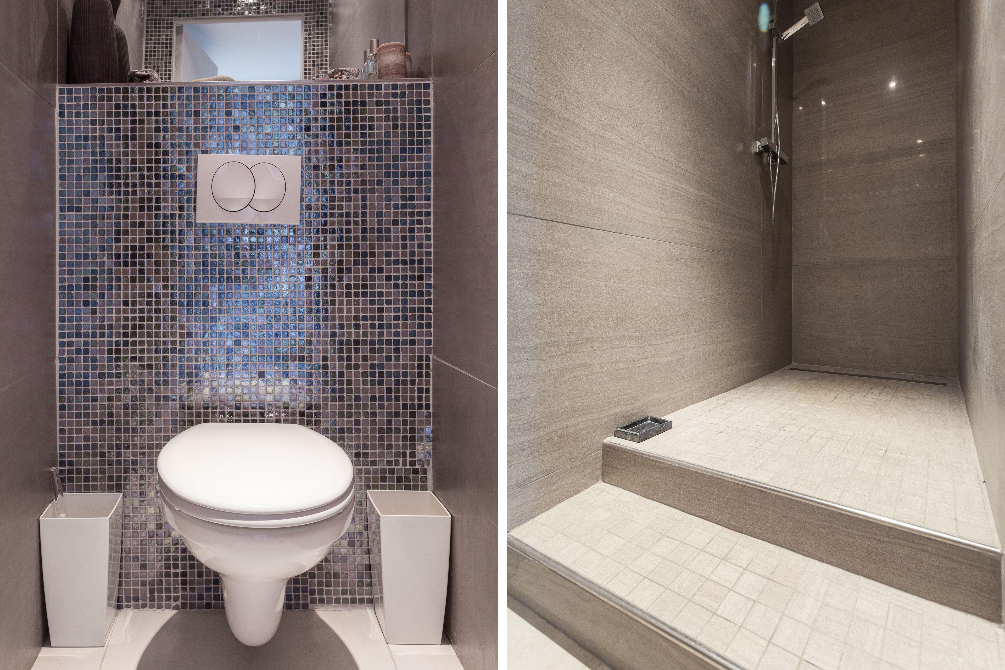 Nos Idees Salle De Bain Douche Italienne Carrelage Mosaique