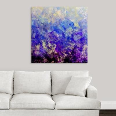 Lilac Sunset By Vinn Wong Canvas Wall Art Multi Color Canvas Wall Art Diy Canvas Art Art