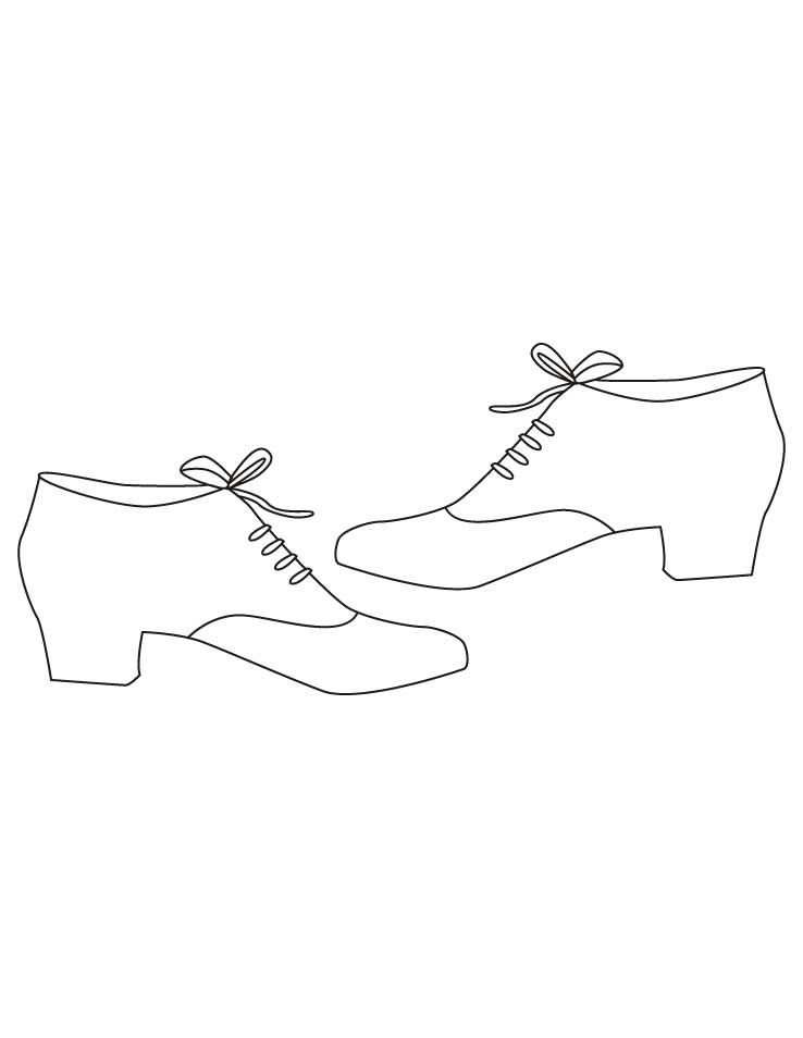 Mens shoes coloring pages | Download Free Mens shoes coloring pages ...