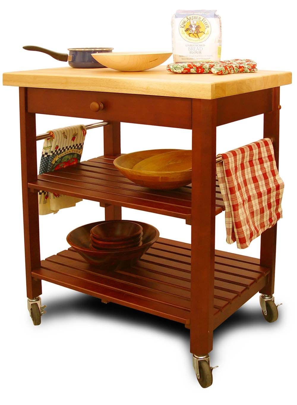 Roll About Kitchen Cart - Catskill Craftsmen | Pinterest