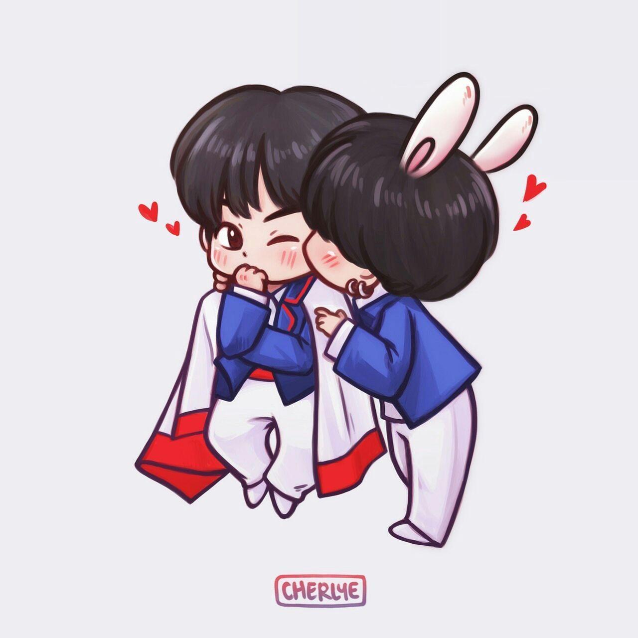 Photo of || Fan Art || BTS × Kookie – #1 – VKook