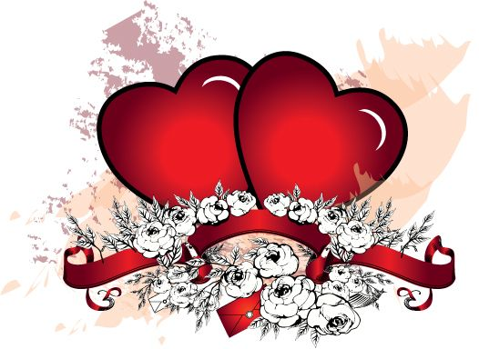 Love Piture Designe 42 Heart Vectors Designs Graphics