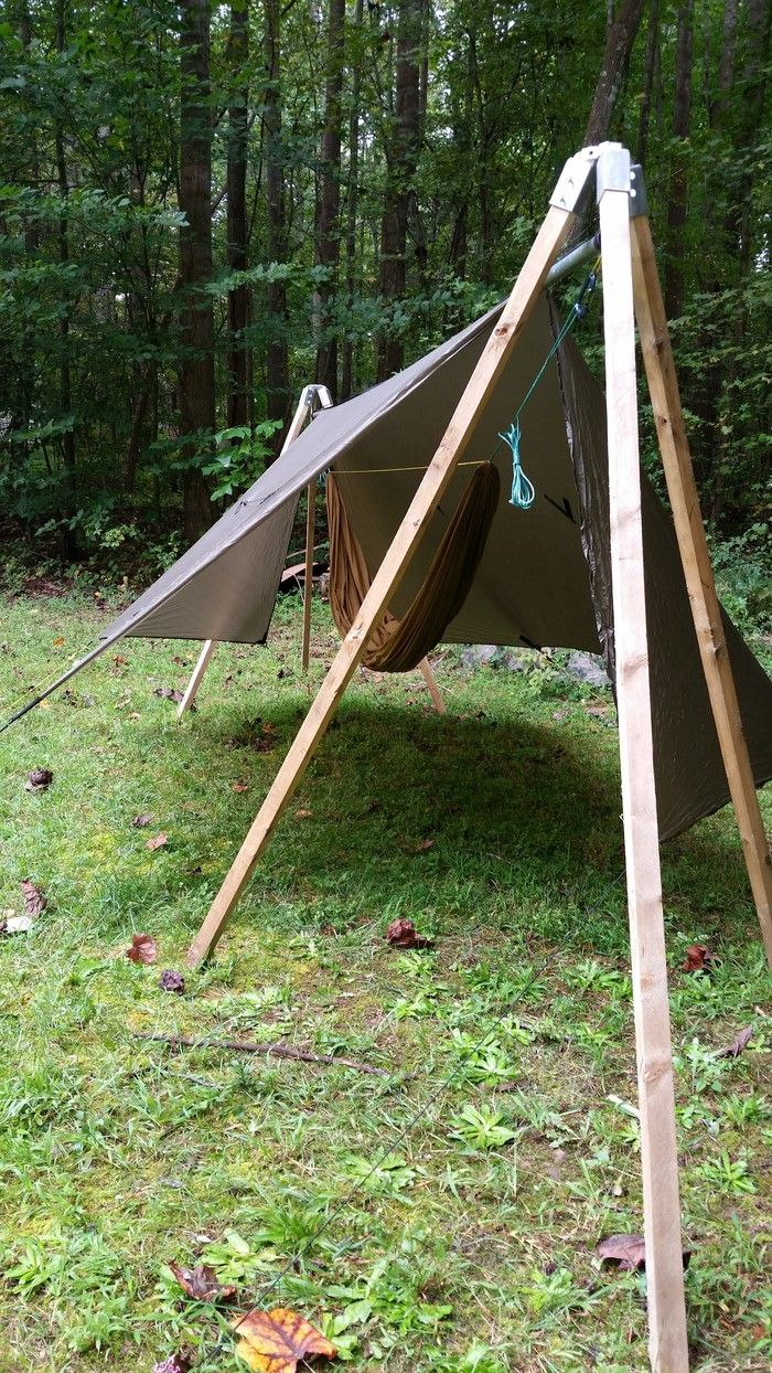 bryan oates is raising funds for tato gear folding hammock stand kit on kickstarter  no time skill or tools to build your own  just add standard lumber and     https   www kickstarter   projects 1610413078 tato gear folding      rh   pinterest