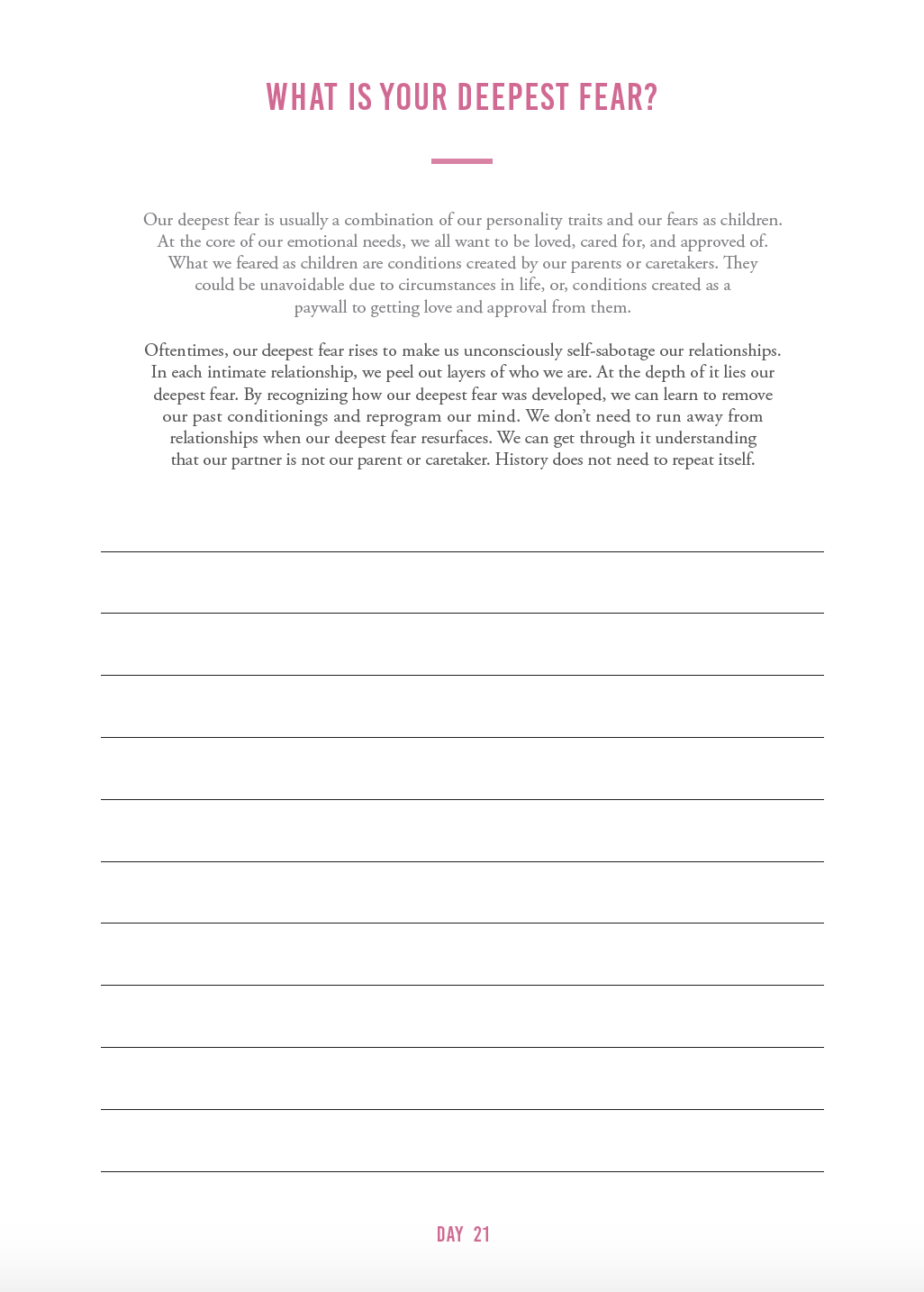 Self Esteem Worksheets By The Happiness Planner On The