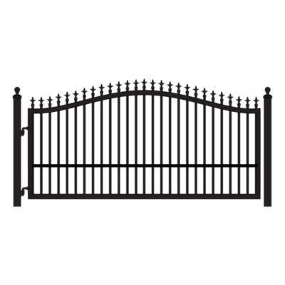 Mighty Mule Single Swing St Augustine Gate 12 Ft W Driveway Gate Fence Gate Driveway