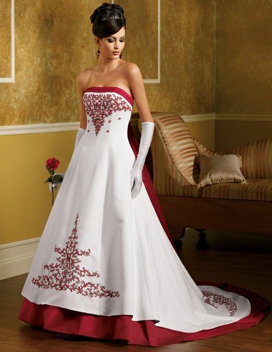cool vestidos de novia con color: innovadora tendencia en modas