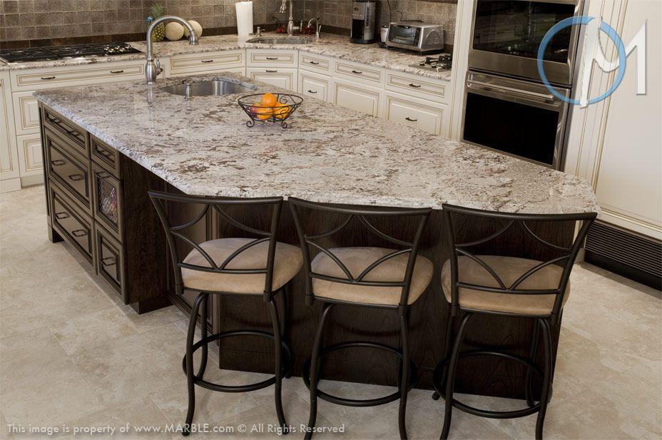 Best Love The Bianco Antico Granite With Dark Cabinets 400 x 300
