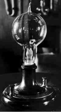 Thomas Edisons Greatest Challenge Was The Development Of A Practical Incandescent Electric Light
