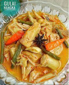 Resep Cara Membuat Gulai Nangka Khas Masakan Padang  Resep masakan indonesia, Resep masakan
