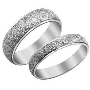 High Quality Fashion Lovers'jewelry Titanium Steel Couple Ring New Style Beautiful Veiw 017 >>> Click image to review more details.