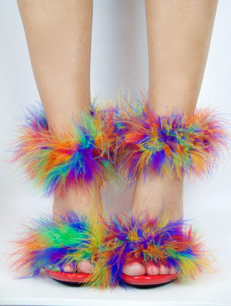 Fluffy Kitten Heels Fluffy Kittens Fluffy Heels Fashion Box
