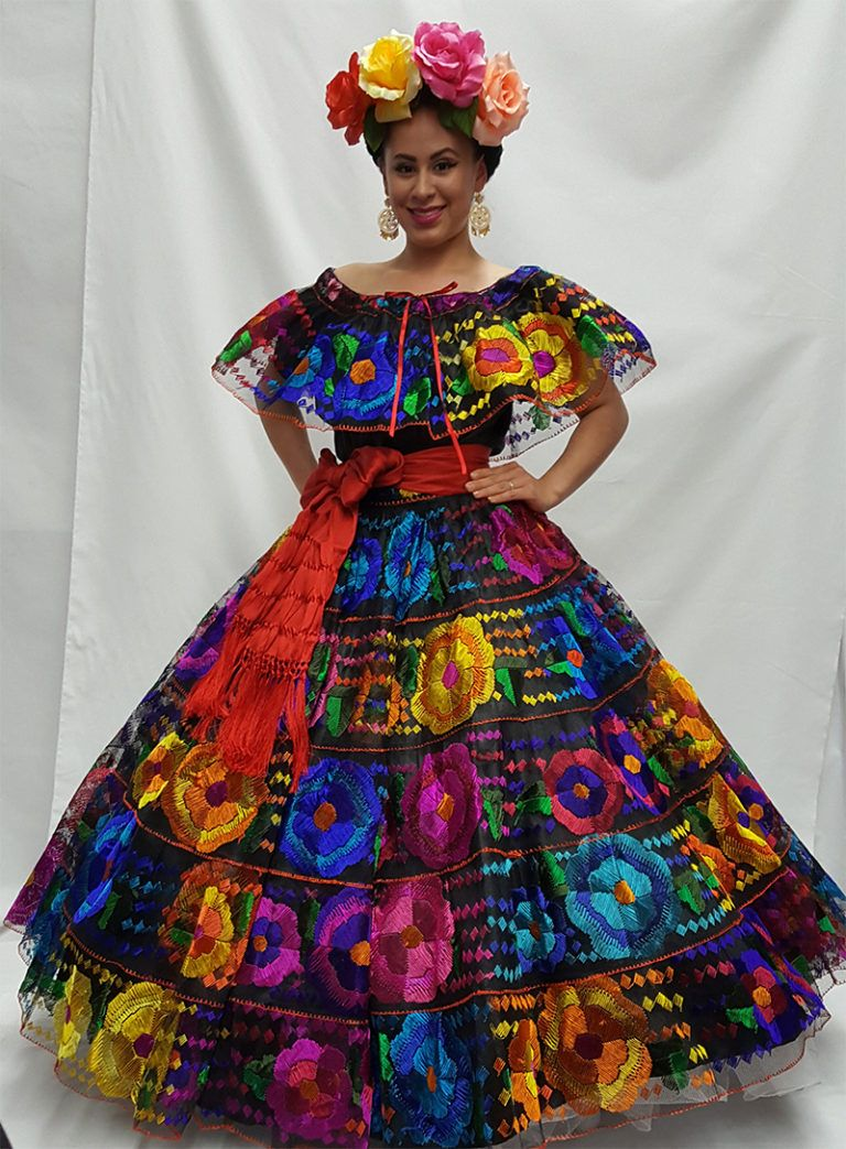 Very Nice and Authentic Chiapas Dress