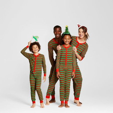 Striped Family Union Suit Pajamas Collection - EV Holiday : Target ...
