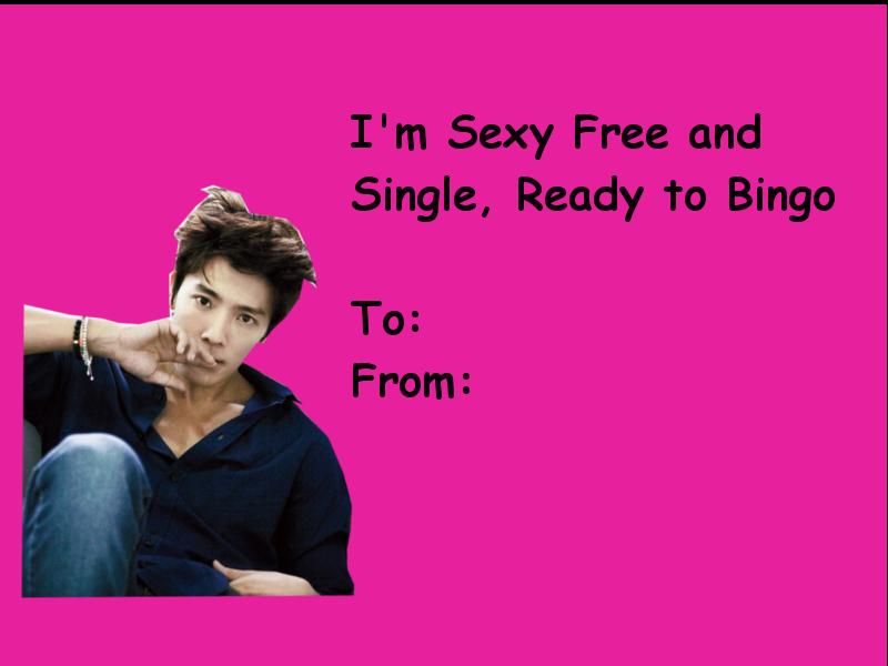 Kpop Valentines | Tumblr