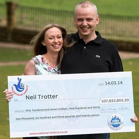 Beware of Mr. Neil Trotter Lottery Donation Advance Fee Scams: Online users are asked to be aware of Mr. Neil Trotter (Neil Family‏) lottery donation advance scams. The names of the London couple, who won £107.9 million in the Euromillions lottery, are being used by scammers in an attempt to trick potential victims into sending money and personal information. The scammers claim their potential victims were randomly selected to receive donations from the lottery winners as part of their ...