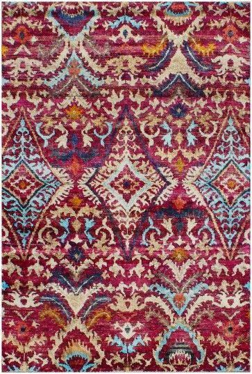 Pin On Sari Silk Rugs