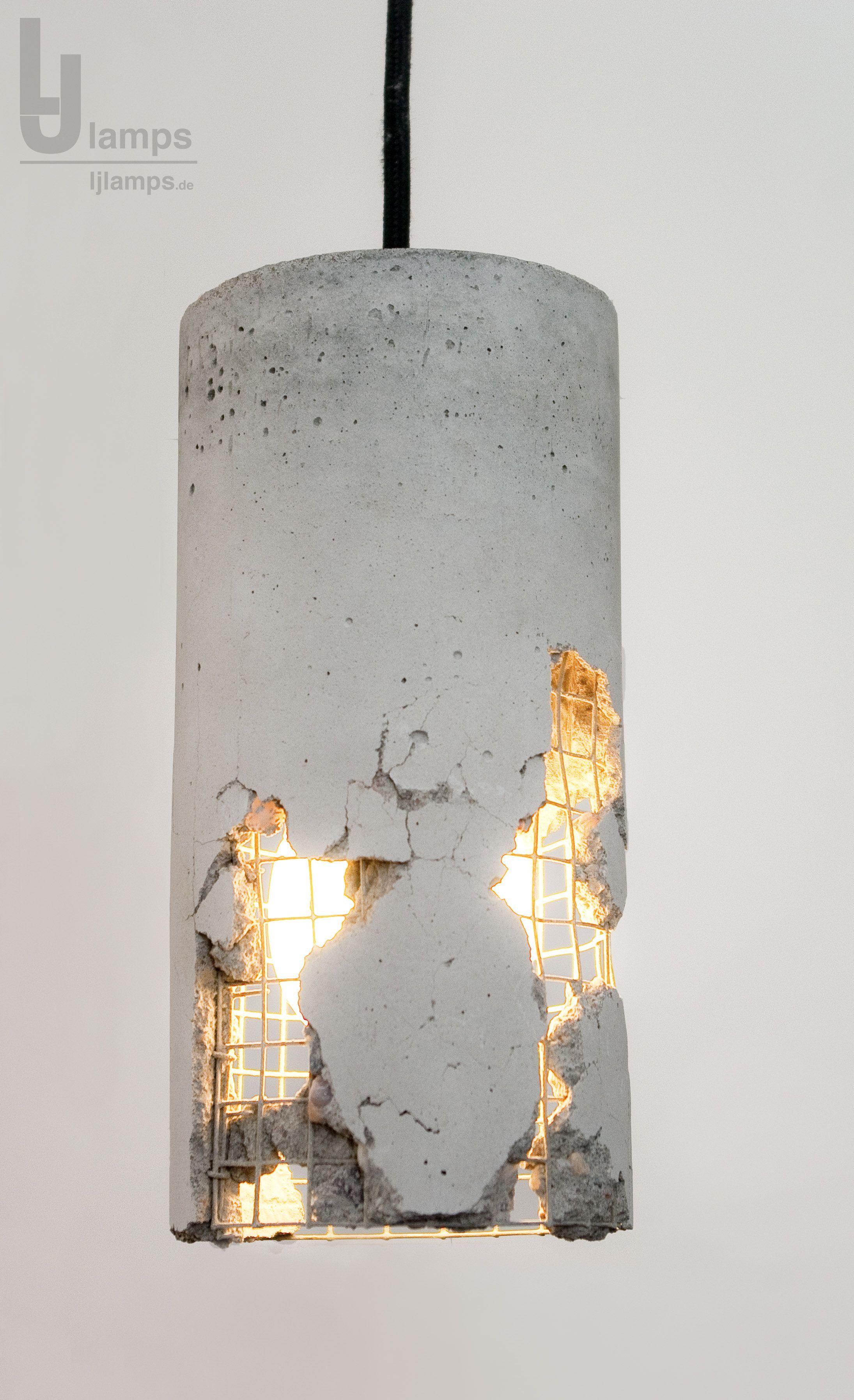Beton Leuchte Hammer Und Kraft Befreien Die Lampe Ein Design Das