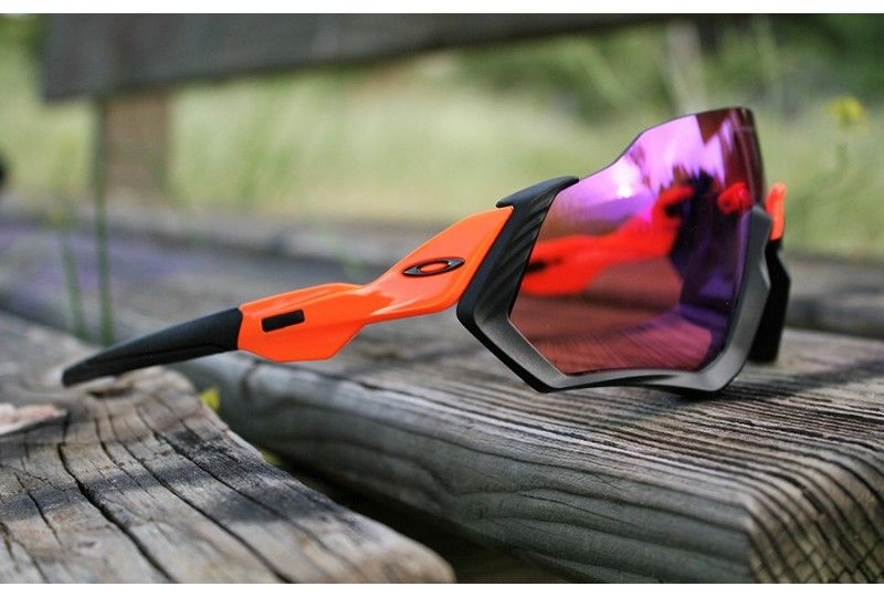 Sunglasses Flight Matte Orange Prizm Jacket TrailOakley uOkXZiPT