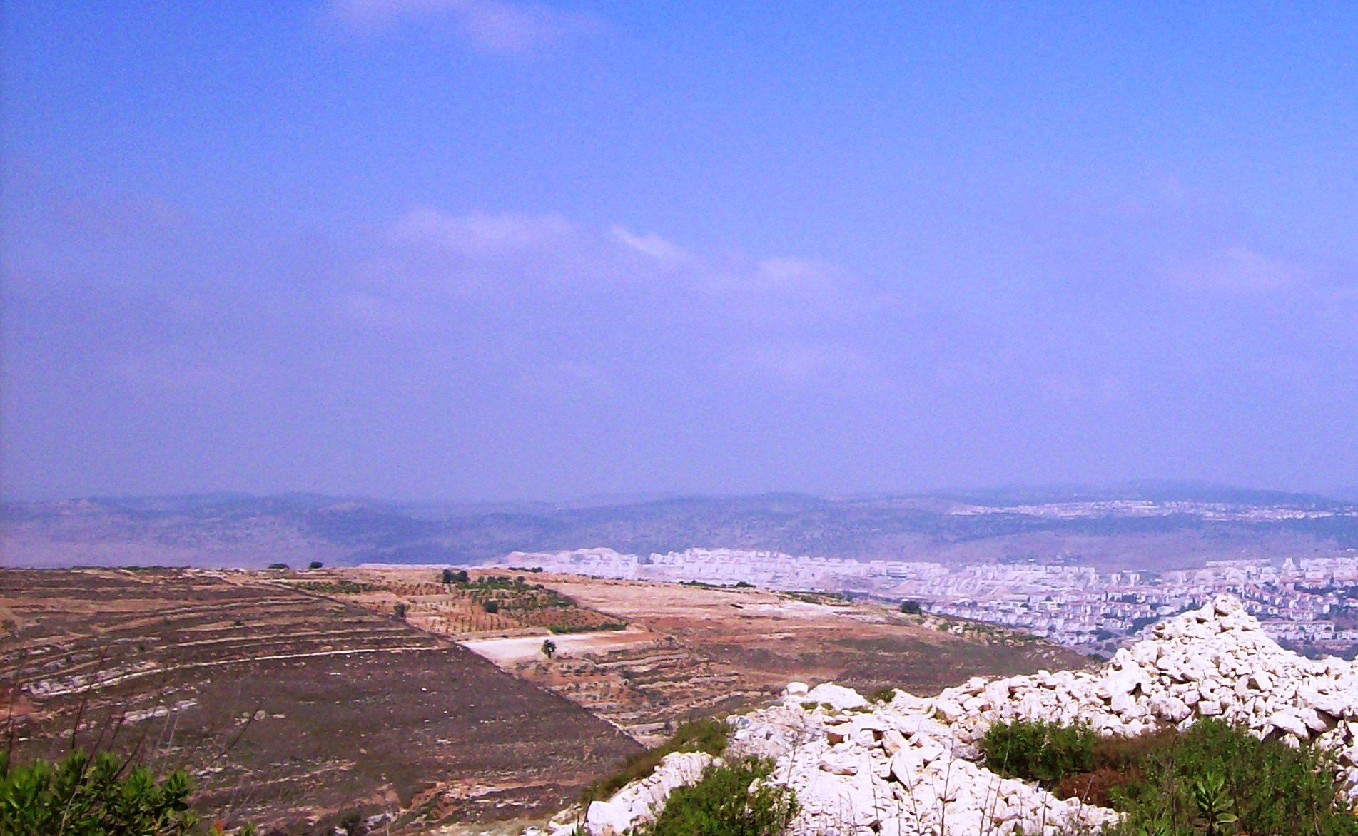 Hebron - the fertile land given to Abraham