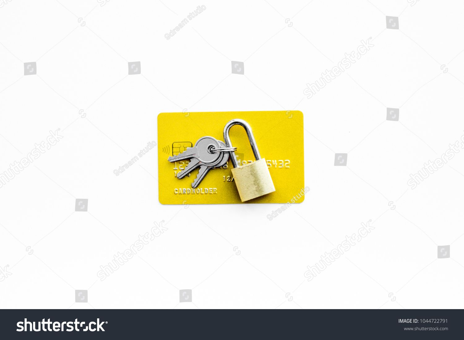 Electronic Payments Protection Bank Cards Near Lock And Keys On White Background Top View Copy Space Spon Psd Template Website Website Template Psd Templates